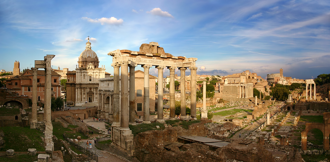 Forum Romanum - Historika sevärdheter i Rom