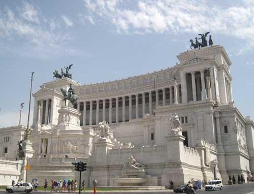 Emmanuel Vittoria vid Piazza Venezia i Rom